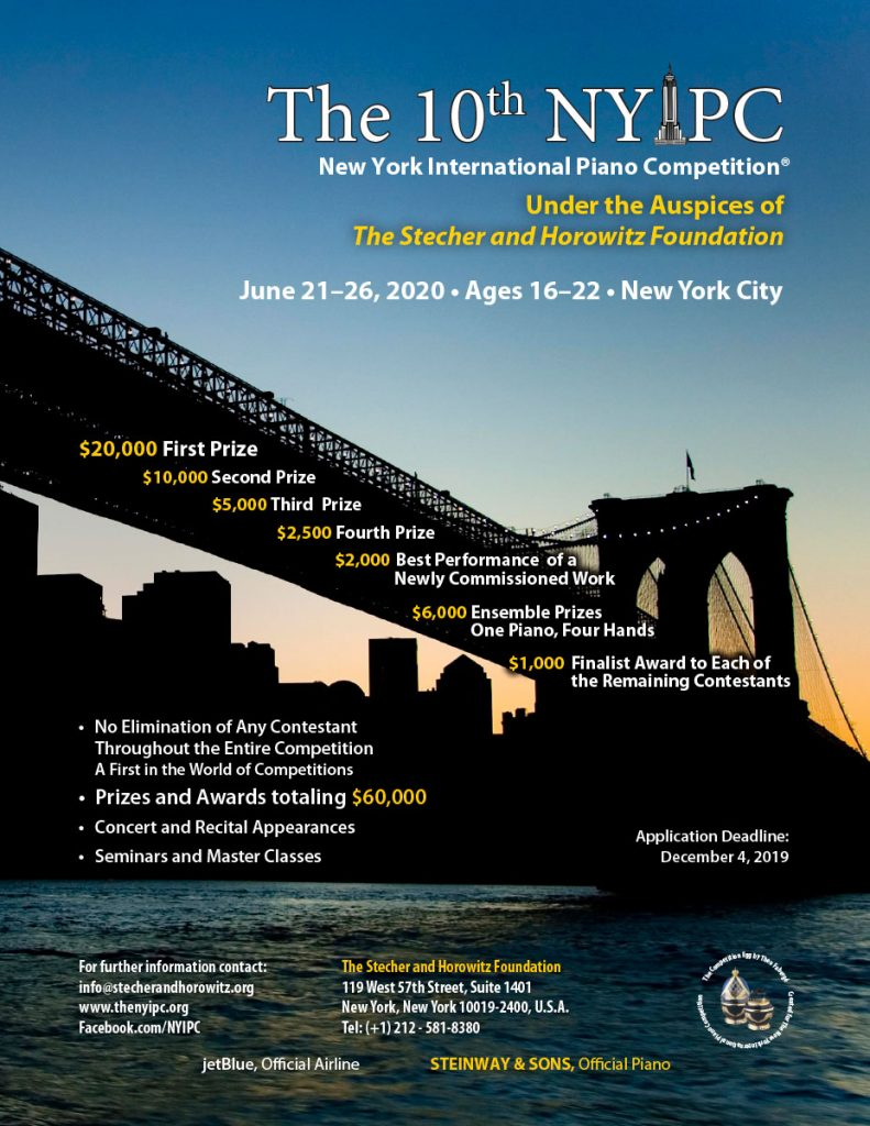 The New York International Piano Competition
