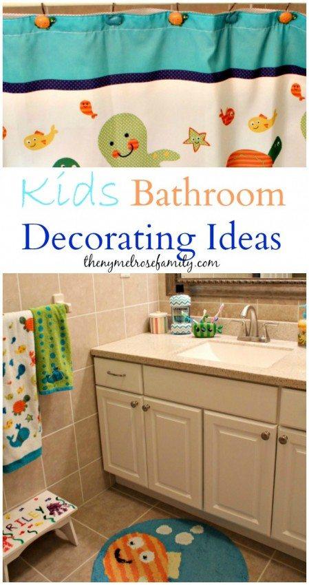 Kids Bathroom Decorating Ideas   The NY Melrose Family ... on Fun Bathroom Ideas  id=42295