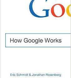 How Google Works by Eric Schmidt