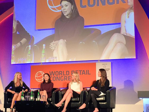 Andrea Weiss NY Retail Panel at World Retail Congress 2015