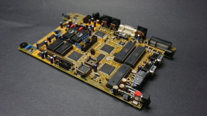 c256 motherboard prototype1