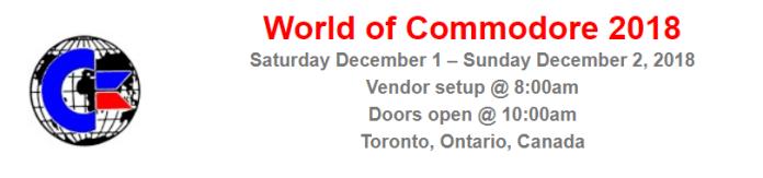 TPUG World of Commodore 2018