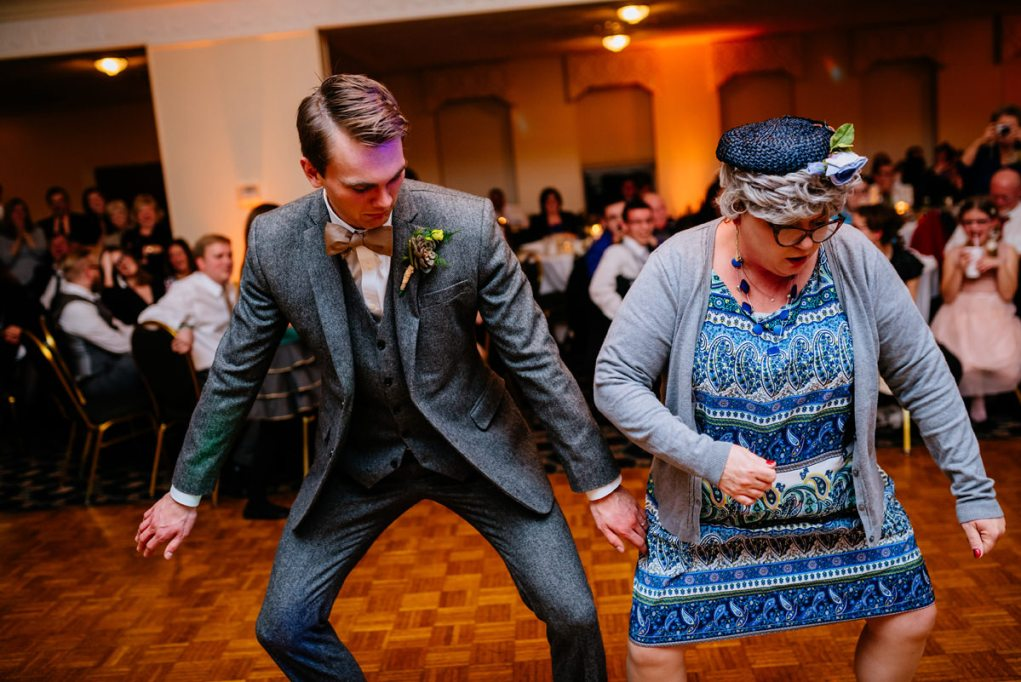 wv winter wedding funny aunt