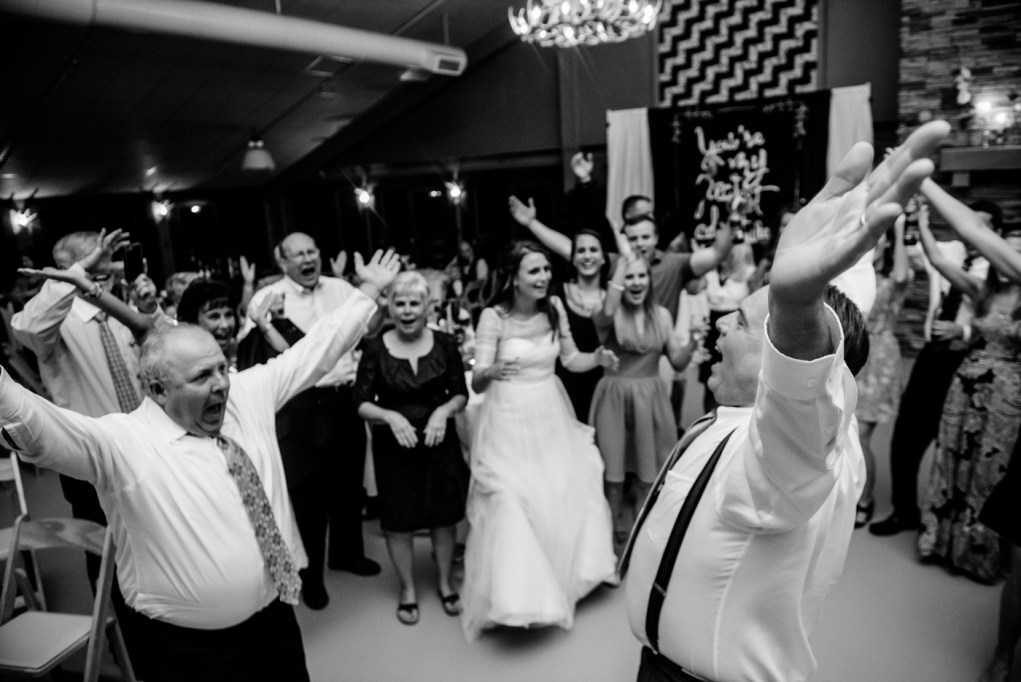 wv wedding reception