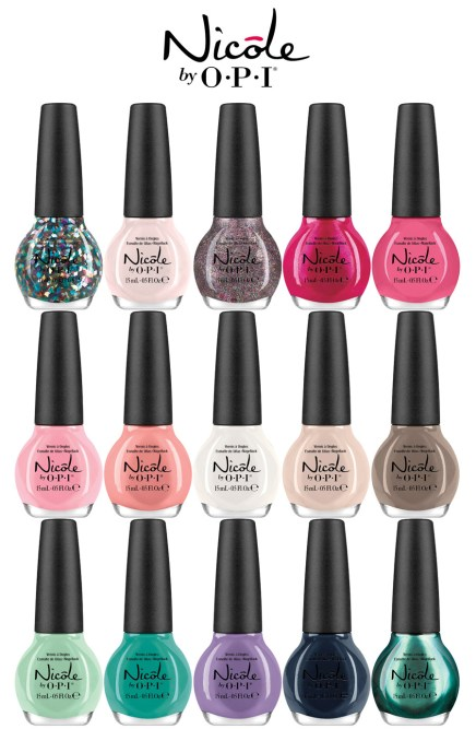 Nicole by OPI New for 2014-1