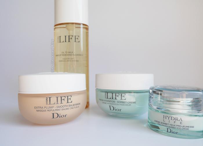 Dior Hydra LIFE bottles