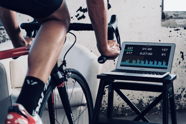 TrainerRoad app runs on laptops, tablets and smartphones