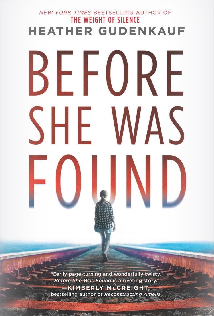 First Line Fridays | Before She Was Found by Heather Gudenkauf #firstlines #netgalley