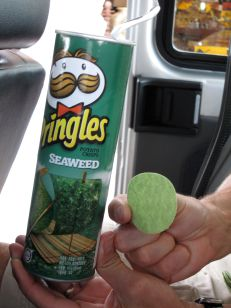 That's right, Seaweed Pringles