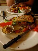 Humongous Veggie Burgers at Kalaset