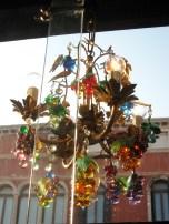 Antique Murano chandelier- it's fruit!
