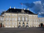Part of the Royal Palace in Copenhagen, the palace is 360 degrees around