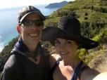 Fun in the sun, between Manarola and Corniglia