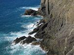 Cliffs between Riomaggiore and Manarola! Gorgeous!