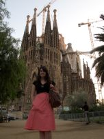 The Sagrada Familia, end of a great day!