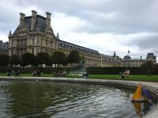 North end of the Louvre
