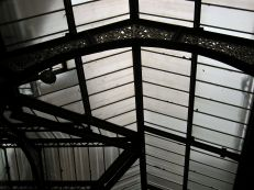Inside Liverpool Street Station, on the way to Spitalfields