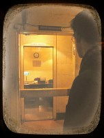 Eric looks on to the Prime Ministers Office