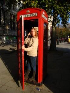 It's London calling.