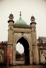 Gate at the Royal Pavilion