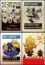 Loved these vintage travel posters