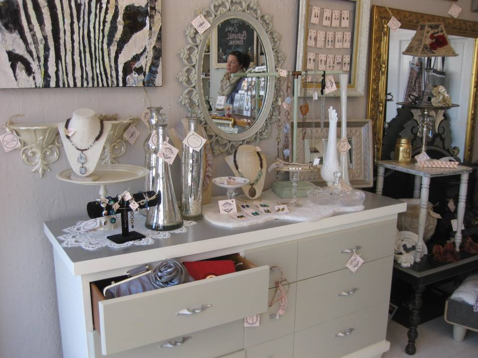 A refinished dresser/buffet at Amour Sophie