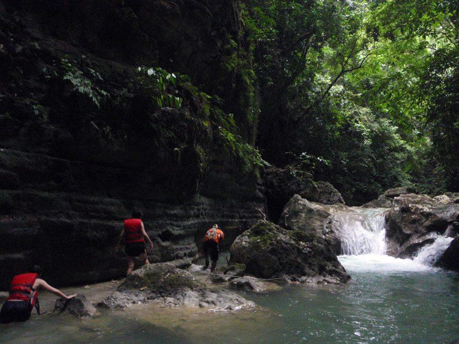 Cebu Moalboal Kawasan River