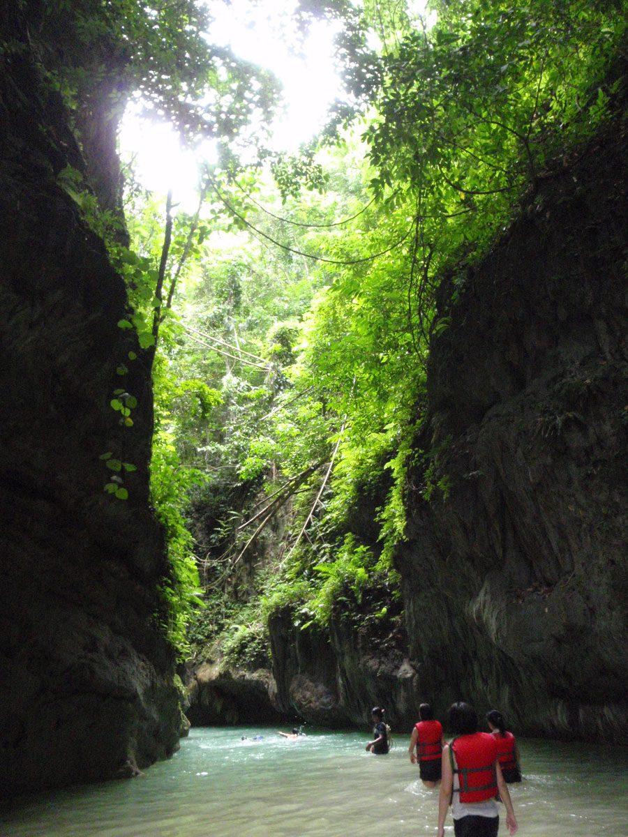 Cebu Moalboal Kawasan River Valley