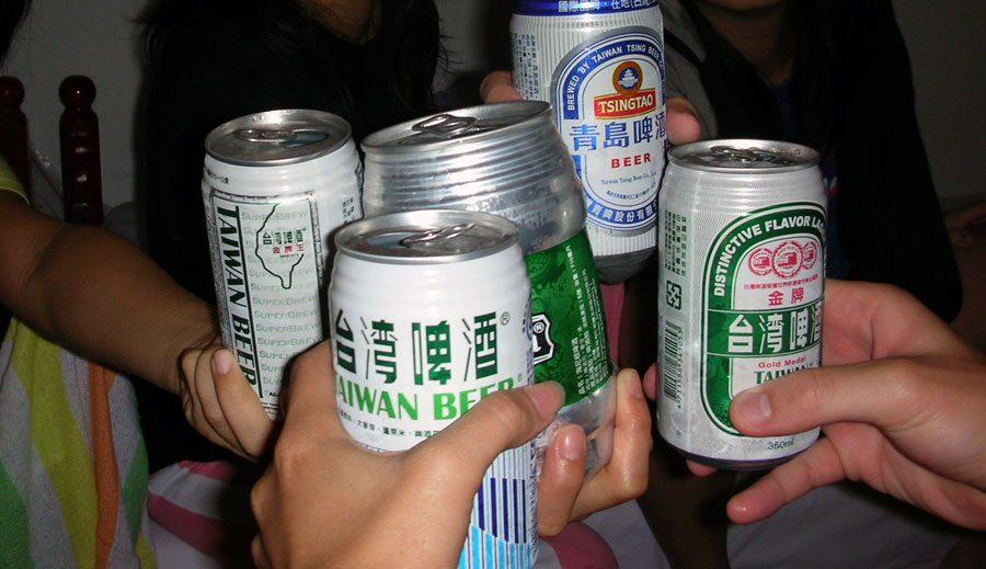 Taipei Taiwan Beer