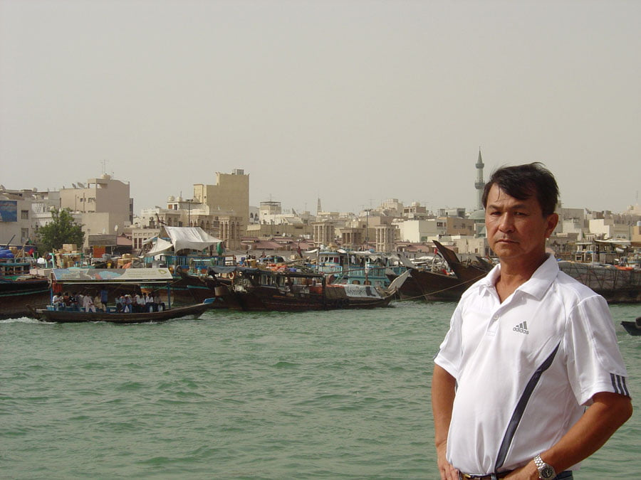 Dubai River Dad