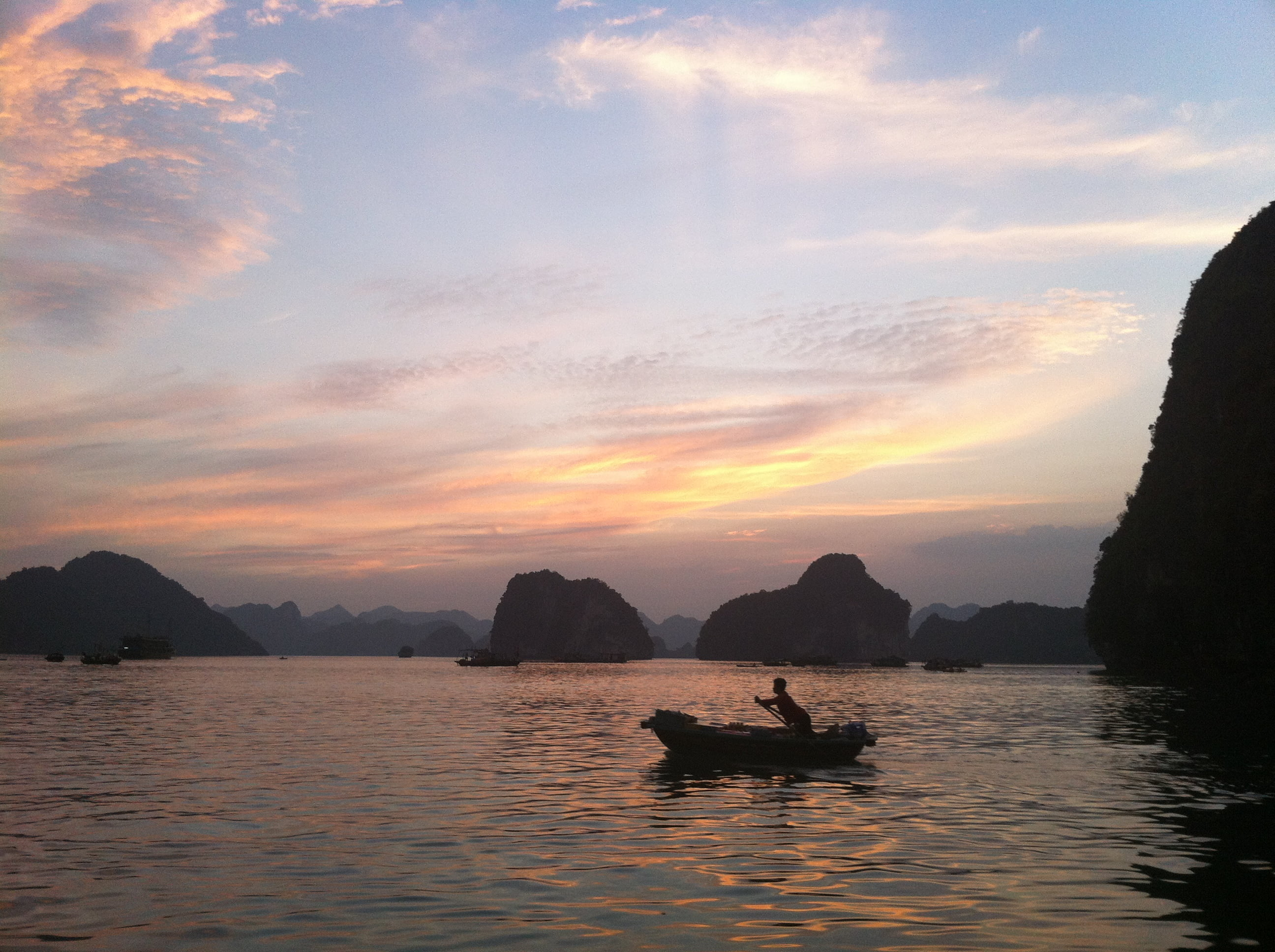 Vietnam Sights – Halong Bay (and a little Anywhere Travel Guiding)