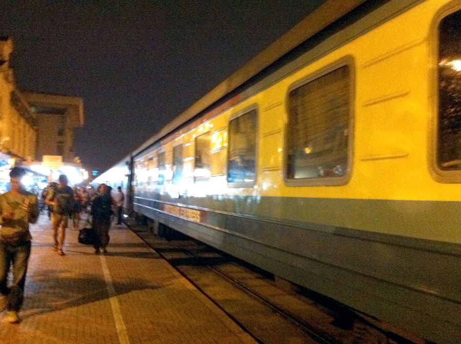 Vietnam Hanoi Overnight Train