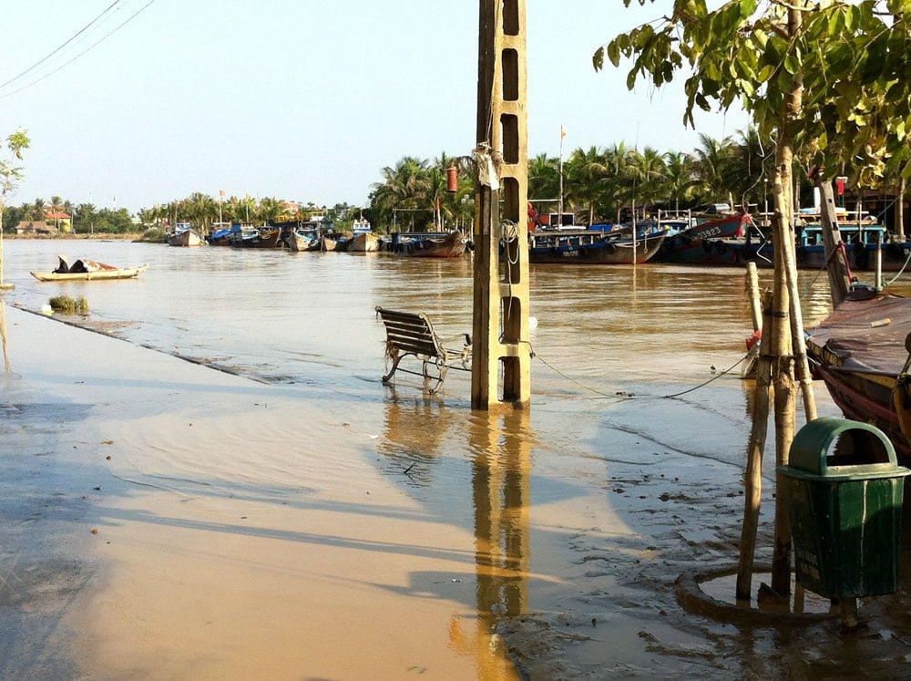 Vietnam Hoi An Flooded River