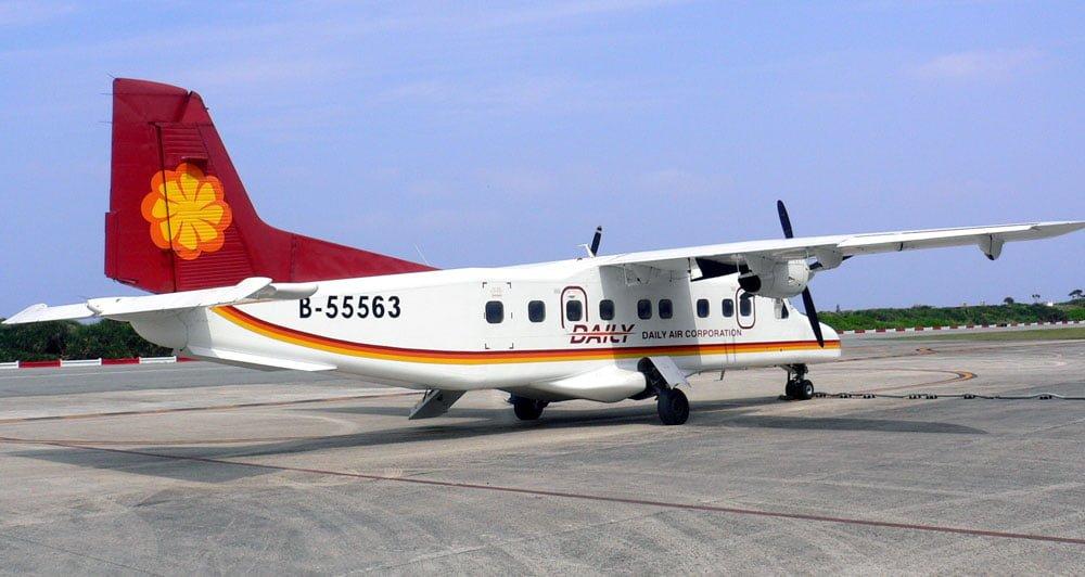 Taitung Lyudao Daily Air Plane