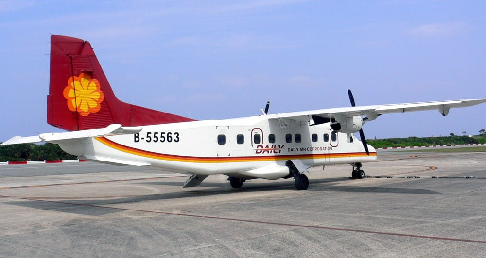 Taitung-Lyudao Daily Air plane