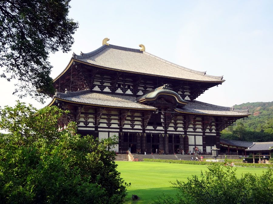 Japan Nara Todaiji Daibutsuden Hall