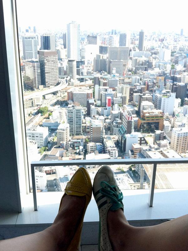 Osaka - Umeda Sky Building Shoes