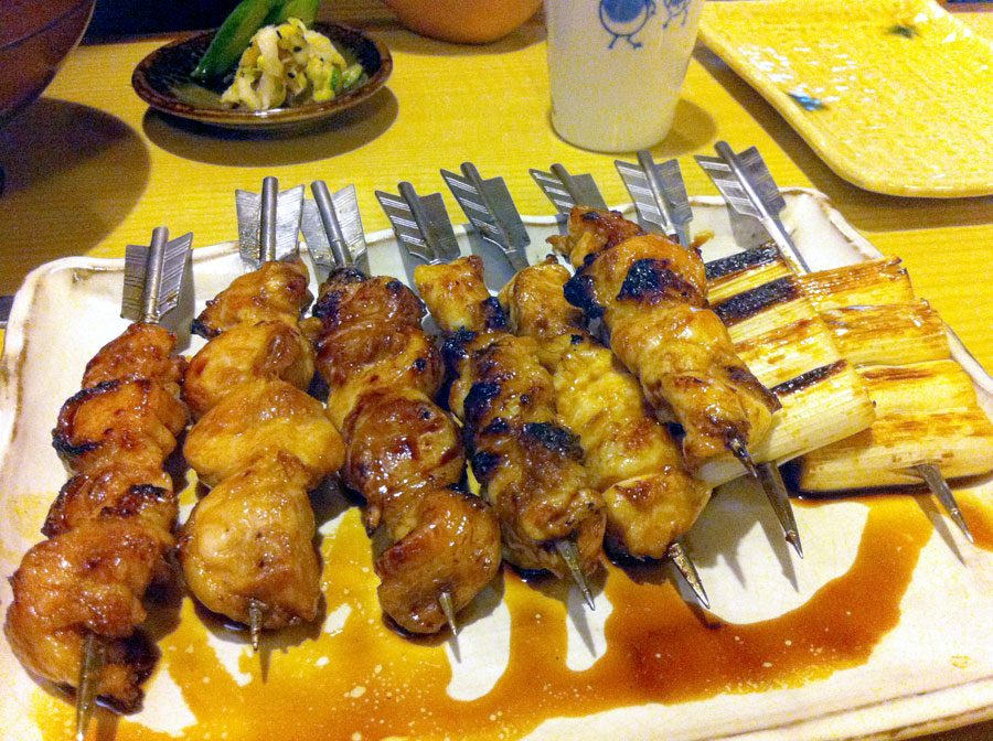 Japan Osaka Torishika Skewers