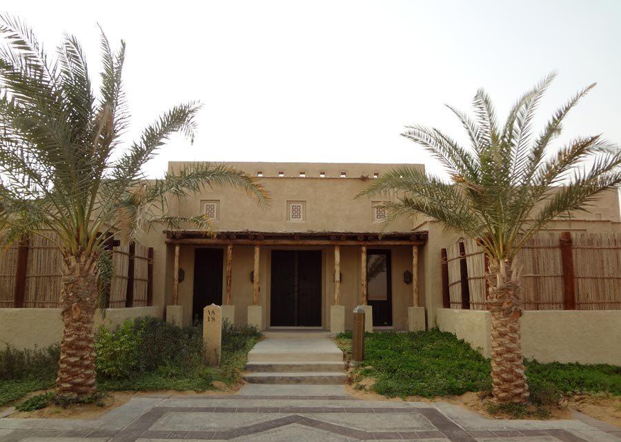 Qasr Al Sarab Villa Entrance
