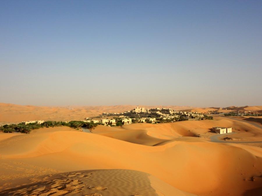 Qasr Al Sarab from desert
