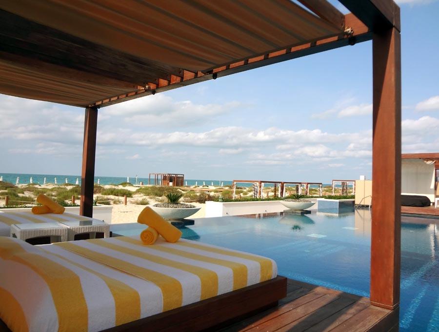 Abu Dhabi Saadiyat Beach Club Cabana
