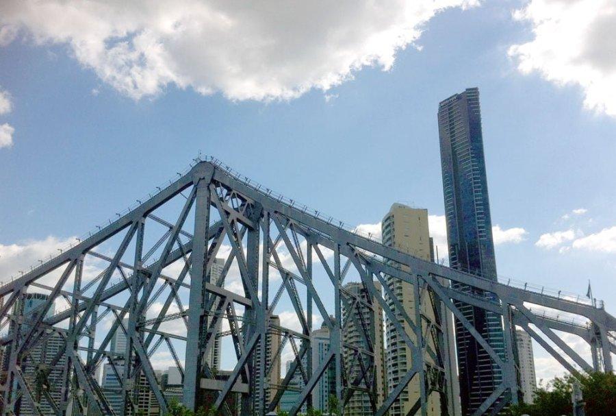 Brisbane Story Bridge Cityscape