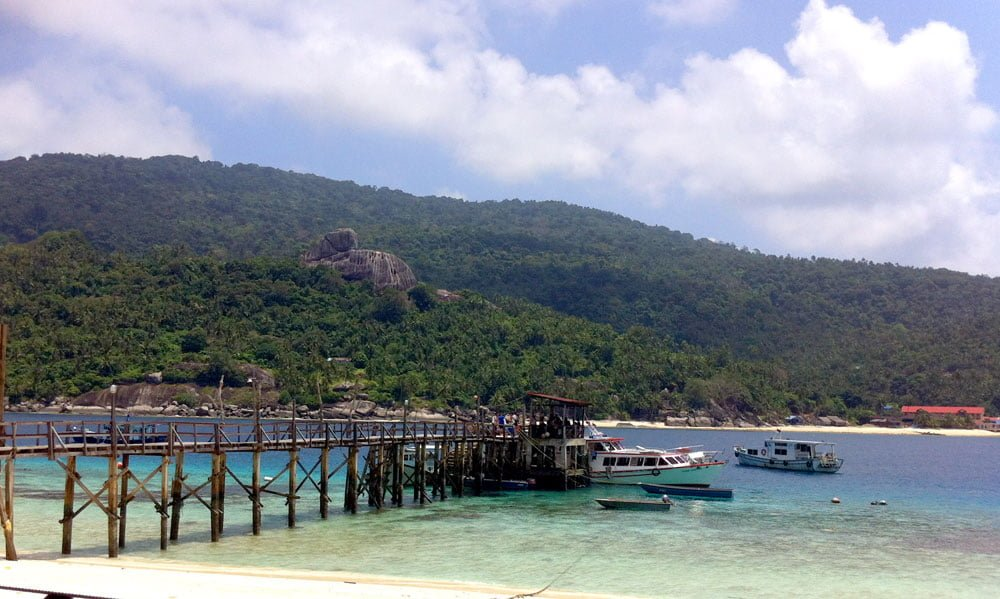 Dayang Diving Jetty