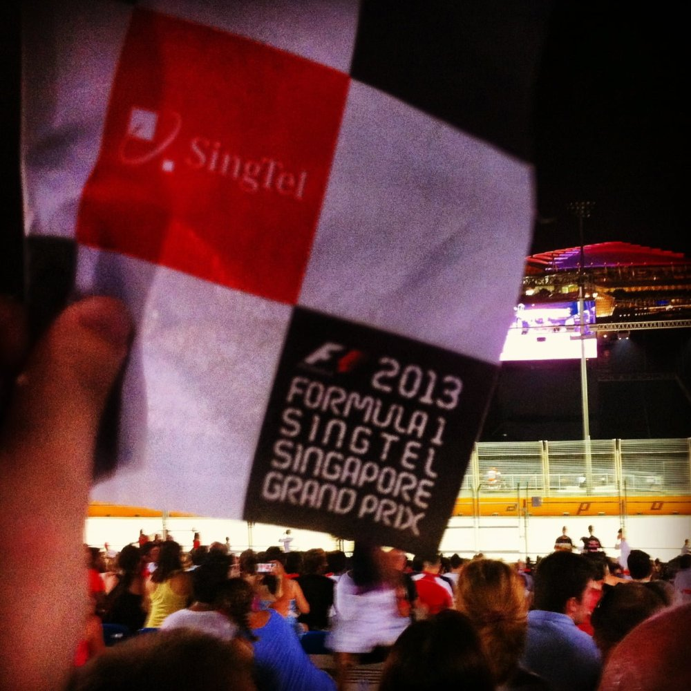 F1 Singapore GP 2013