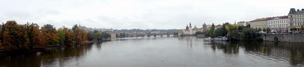 Legion Bridge view of Charles Bridge