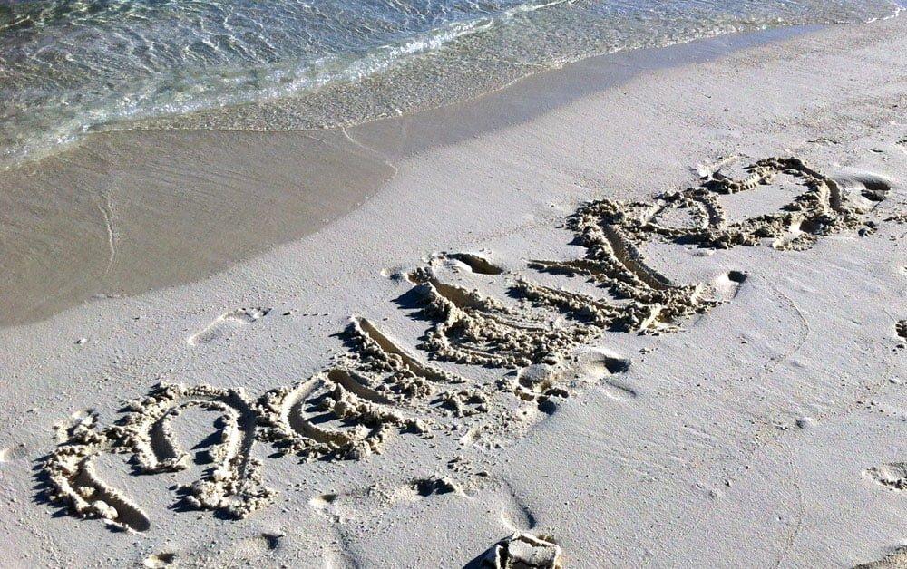 Maldives Diving LOB Beach Sand