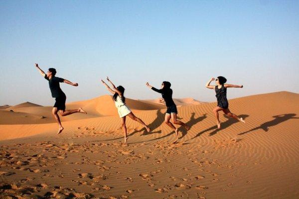 Jac in Liwa Desert, UAE