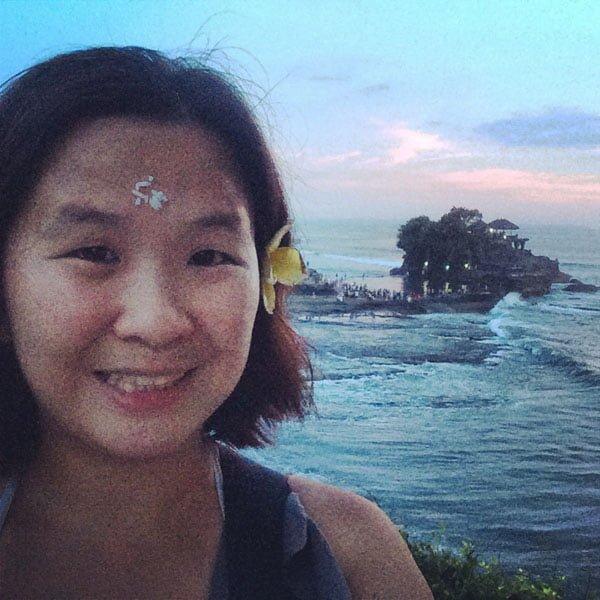 Bali Tanah Lot Selfie