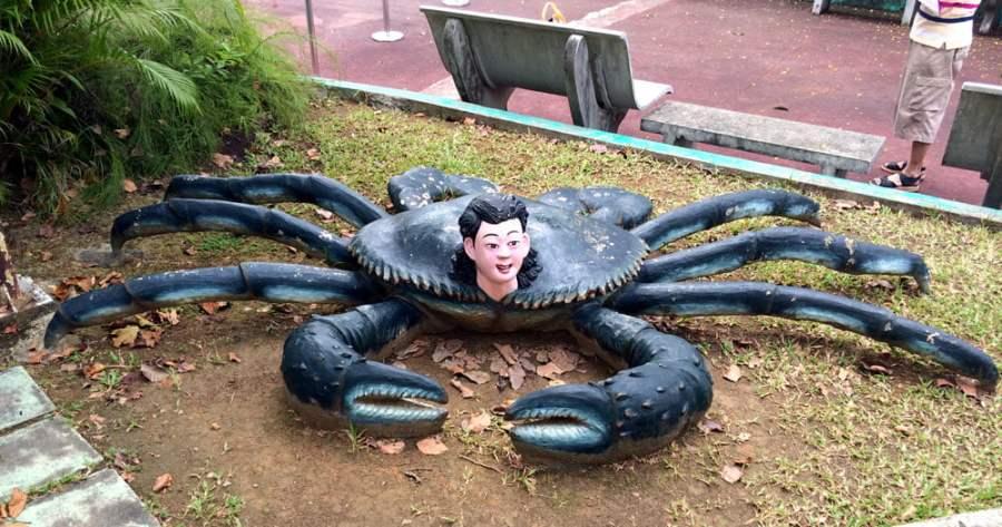 Haw Par Villa Crab Man