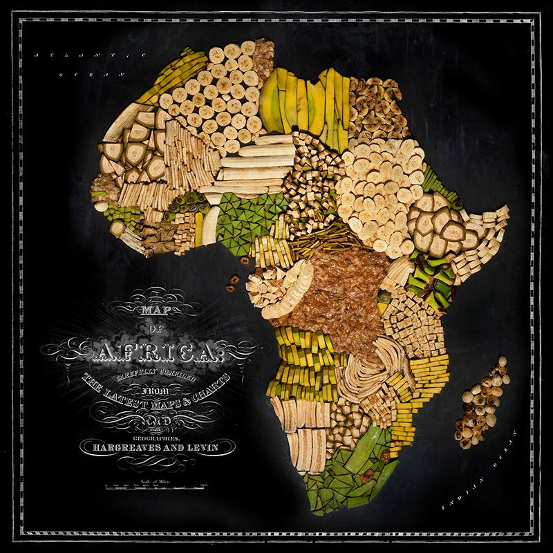 Food Maps by Henry Hargreaves and Caitlin Levin - Africa